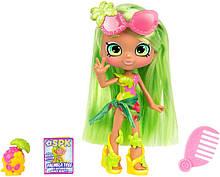 Shopkins Shoppie Кукла Палмела Три Пляжный стиль 57159 Palmela Tree Doll Single Pack