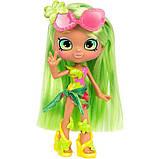 Shopkins Shoppie Лялька Палмела Три Пляжний стиль 57159 Palmela Tree Doll Single Pack, фото 4