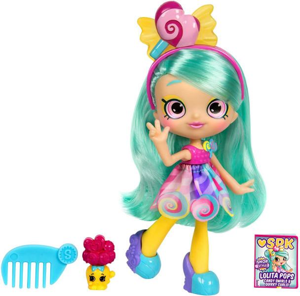 Shopkins Shoppie S10 Кукла Лолита Попс Шопстайл 56932 Lolita Pops Doll Lil Secrets Single Pack