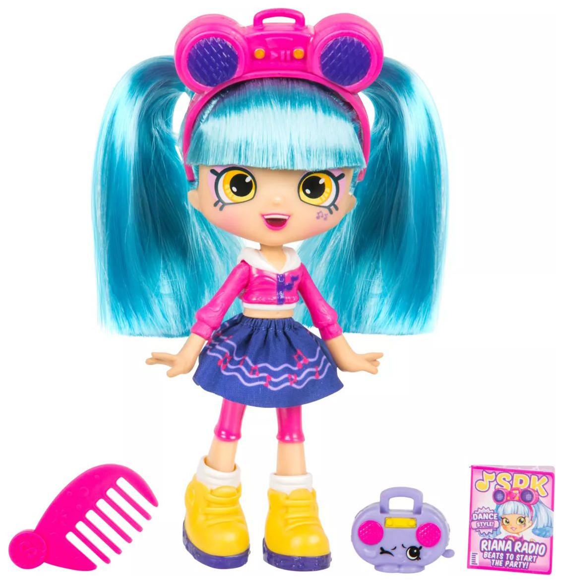 Shopkins Shoppie Лялька Ріана Радіо Танцювальний стиль 57418 Riana Radio Dance Style Doll