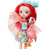 Enchantimals Фламинго Фенси Флэминг и Свош GFN42 Fanci Flamingo Doll Swash Figure, фото 2