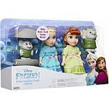 Disney Frozen 2 Набор Анна Эльза в детстве и Тролли 205271 Petite Anna Elsa Dolls with Surprise Trolls Gift, фото 6