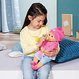 Zapf Інтерактивна Еллі посміхається 960202 Elli Smiles baby born, фото 3