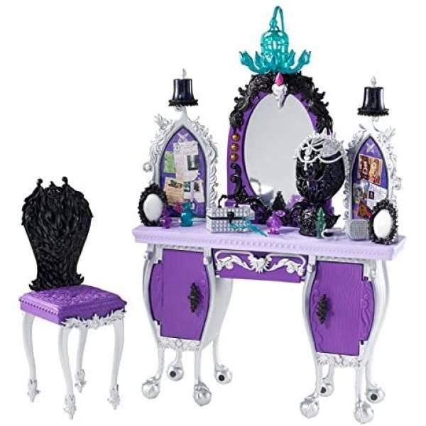 Ever After High Туалетный столик Рэйвен Квин BDB17 Getting Fairest Raven Queen Destiny Vanity Accessory