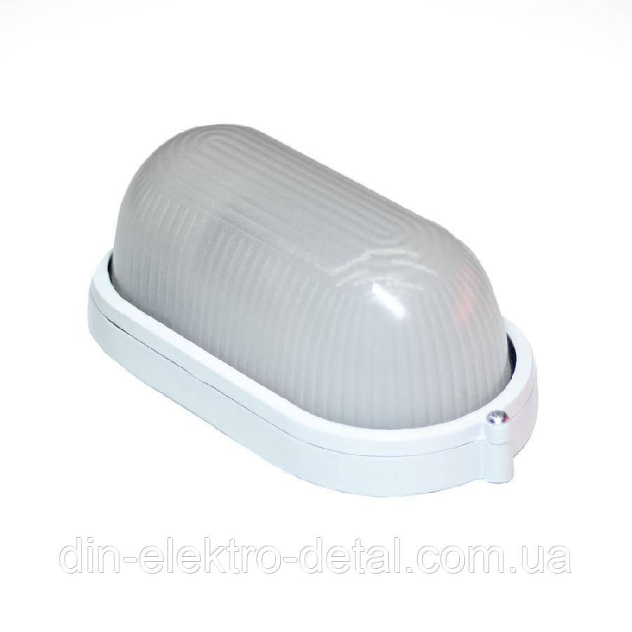 Светильник настенный ЕВРОСВЕТ WOL-20 100Вт Е27 овал белый IP65