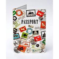 Обкладинка для паспорта Travel марки, Обкладинки на Укр/закордонний Паспорт/ магазин Gipo, фото 1