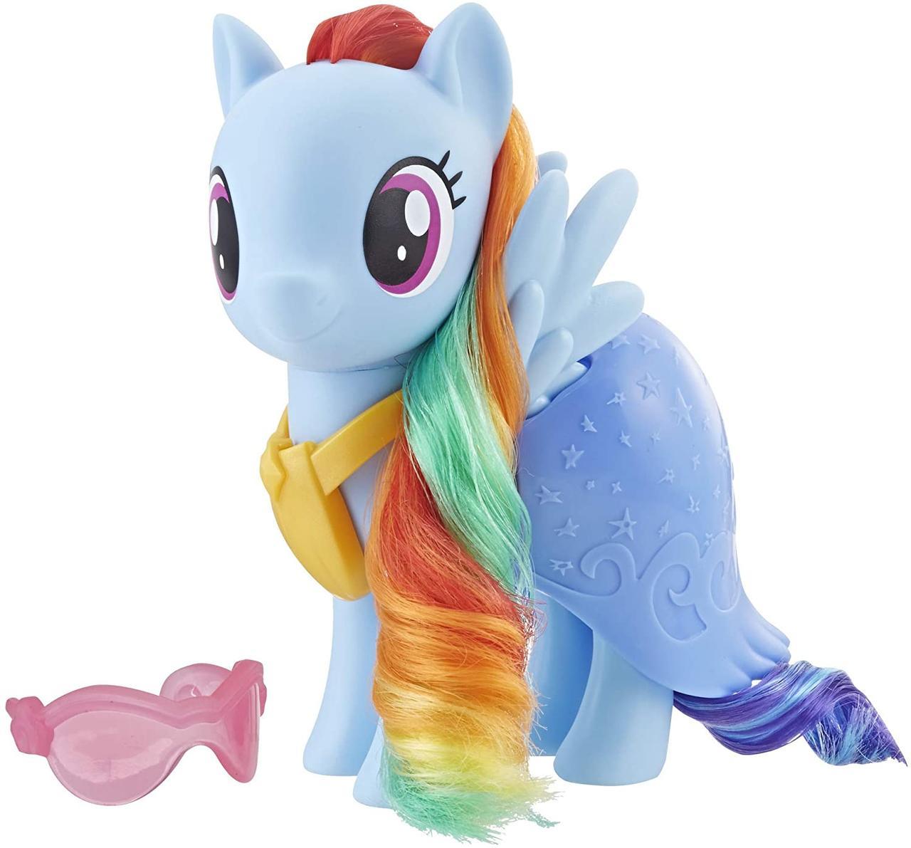 My Little Pony Райдуга Мосту Деш у святковому вбранні E5610 E5551 Dress Up Friendship Rainbow Dash