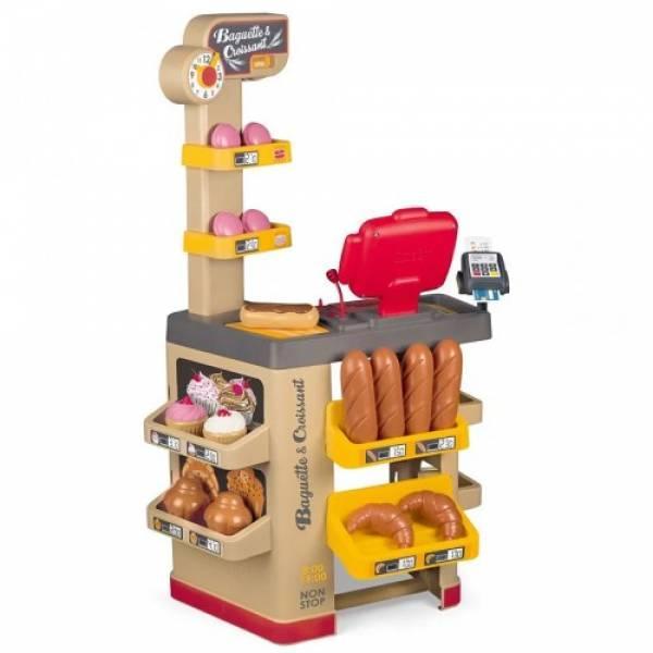 Smoby Дитячий супермаркет пекарня булочна Багети і круасани 350220 Big Bakery Shop