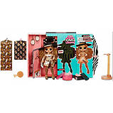 L.O.L. Surprise! S3 Модная фэшн кукла сюрприз Леди Босс 567219 O.M.G. Da Boss Fashion Doll with 20 Surprises, фото 4