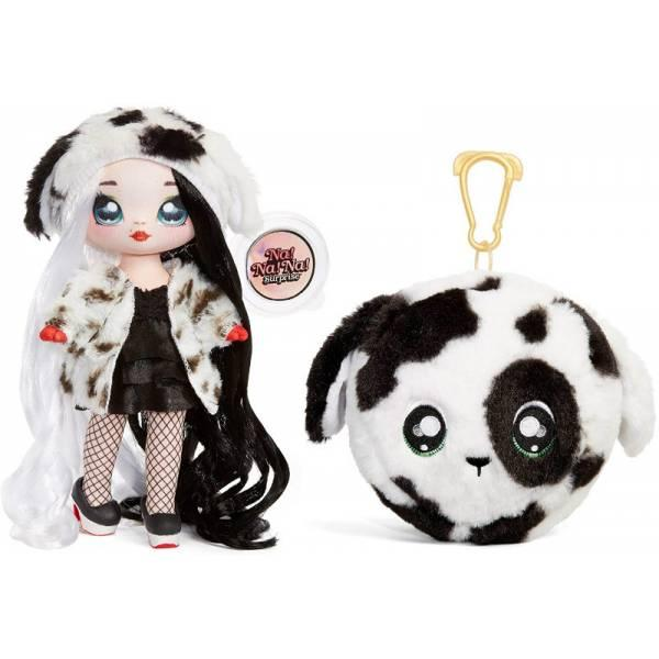 Na! Na! Na! Surprise S3 Мягкая куколка сюрприз с сумочкой Дотти ДеМил 571698 Dottie DeMil Fashion Doll