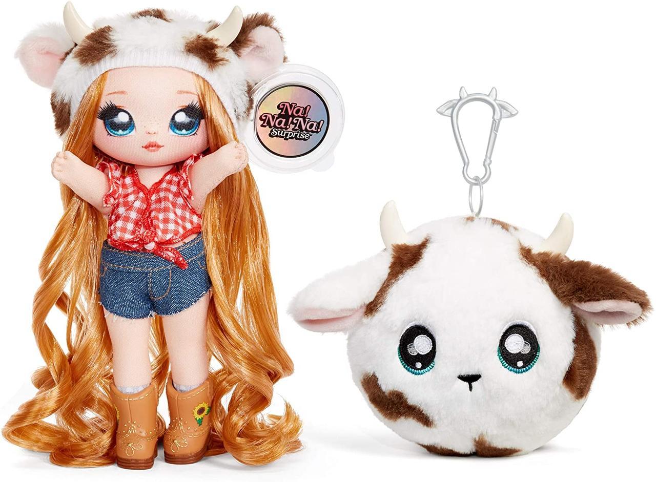 Na! Na! Na! Surprise S3 Мягкая куколка сюрприз с сумочкой Аннабель Мууши 571667 Annabelle Moooshe Fashion Doll