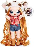 Na! Na! Na! Surprise S3 Мягкая куколка сюрприз с сумочкой Аннабель Мууши 571667 Annabelle Moooshe Fashion Doll, фото 5