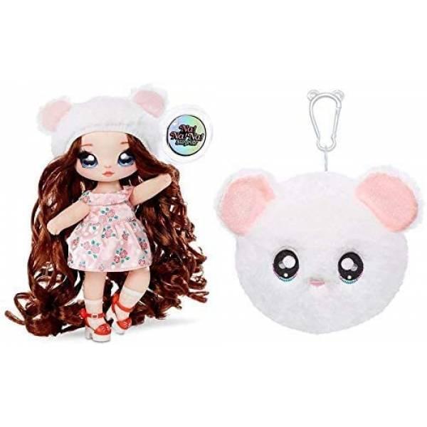 Na! Na! Na! Surprise S2 Мягкая куколка сюрприз с сумочкой Миша Маус 564737 Misha Mouse Fashion Doll