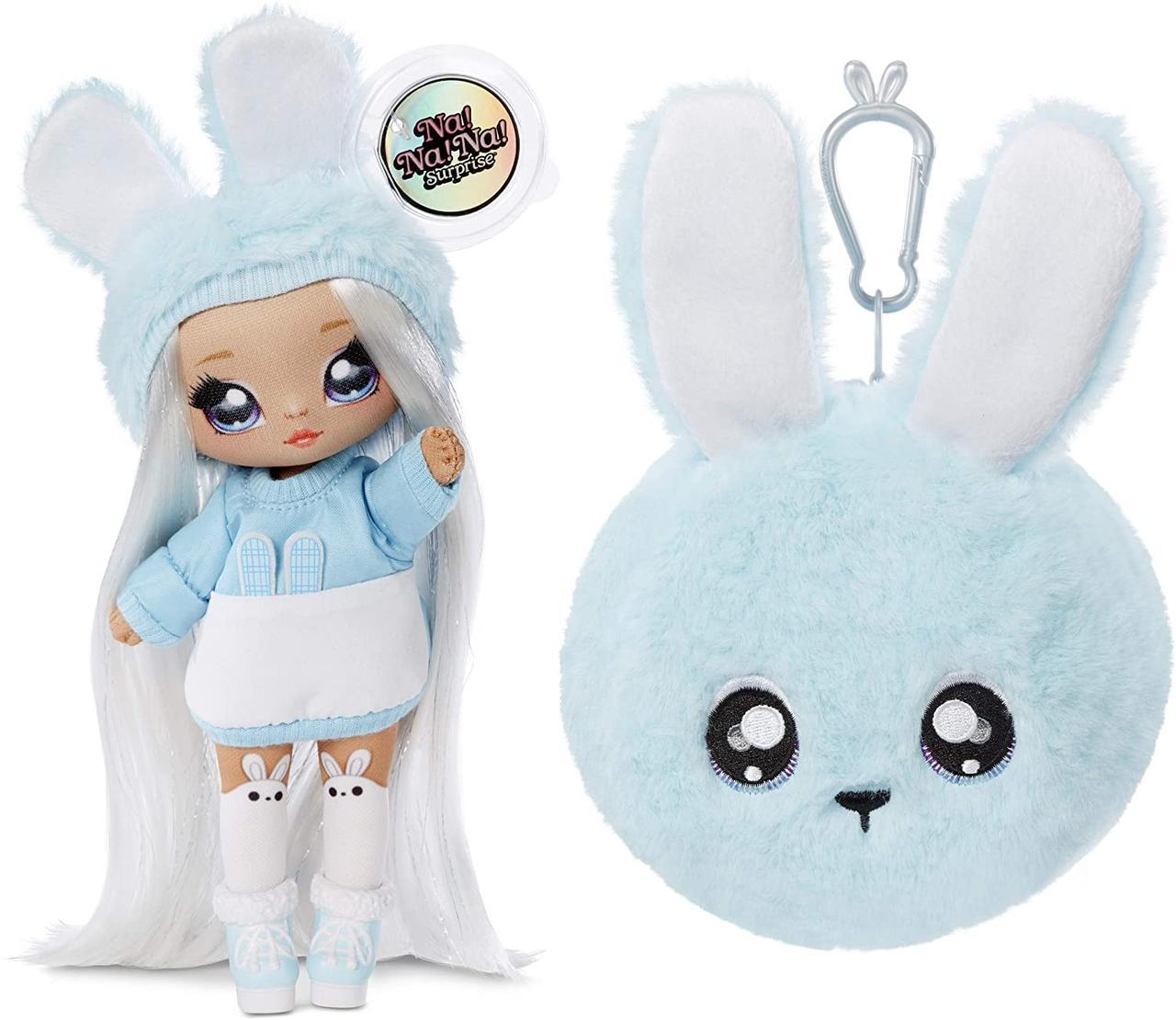 Na! Na! Na! Surprise S2 Мягкая куколка сюрприз с сумочкой Аспен Флафф 564737 aspen fluff Fashion Doll