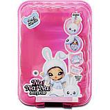 Na! Na! Na! Surprise S2 Мягкая куколка сюрприз с сумочкой Аспен Флафф 564737 aspen fluff Fashion Doll, фото 2