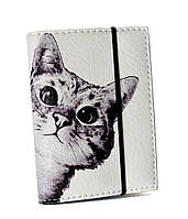 Визитница для карточек Любопытный котик, Визитницы