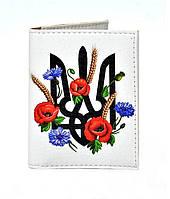 Обложка на ID паспорт Герб и маки, Обложки на ID-карты и пластиковые права/ магазин Gipo, фото 1