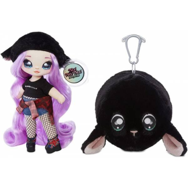 Na! Na! Na! Surprise S1 Мягкая куколка сюрприз с сумочкой Овечка Минна муд Minna Moody Fashion Doll