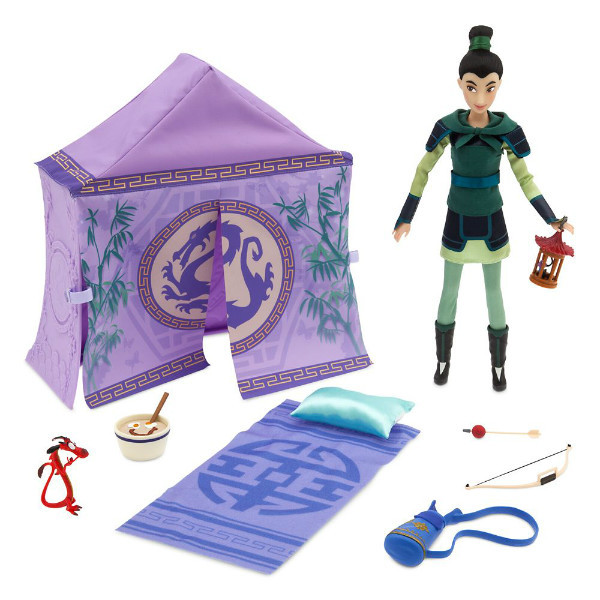 Disney Набір Мулан з наметом Кемпінг 2020 Mulan Classic Doll Campsite Play Set
