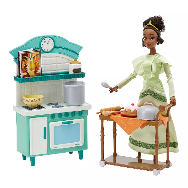 Disney Набор Тиана и ресторан 2020 Tiana Classic Doll Restaurant Play Set