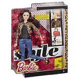 Barbie Барби Стиль Ракель Леопардовый пиджак CFM77 Style Raquelle Doll Leopard Print Jacket, фото 3