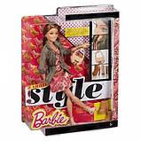 Barbie Барби летний Стиль CFM78 Summer Doll with Pink Paisley Dress and Jacket, фото 6