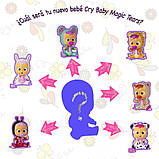 Cry Babies Лялечка пупс-сюрприз плаче малюк в будиночку бірюза 98442 Magic Tears Bottle House, фото 9