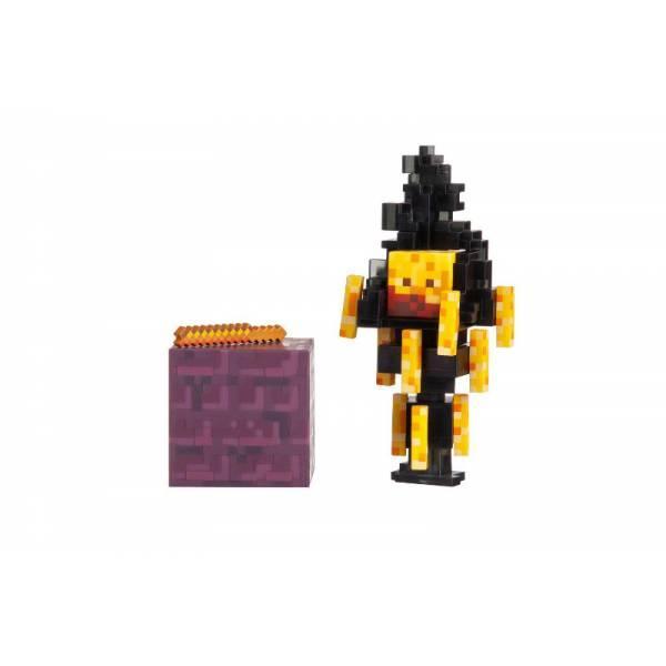 Minecraft S3 Майнкрафт фигурка Блейз Blaze Action Figure pack