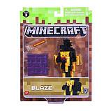 Minecraft S3 Майнкрафт фигурка Блейз Blaze Action Figure pack, фото 2