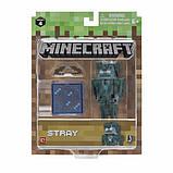 Minecraft S4 Майнкрафт фигурка Зимогор Stray Action Figure, фото 3