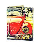 Обложка на ID паспорт Фольксваген Битл, Обложки на ID-карты и пластиковые права/ магазин Gipo, фото 1