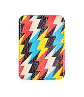 Чехол для ID карты Зигзаги, Обложки на ID-карты и пластиковые права/ магазин Gipo, фото 1
