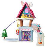 Enchantimals лижний будиночок-шале з кроликами Беви і Джамп Ski Chalet Playset, фото 3