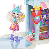 Enchantimals лижний будиночок-шале з кроликами Беви і Джамп Ski Chalet Playset, фото 4