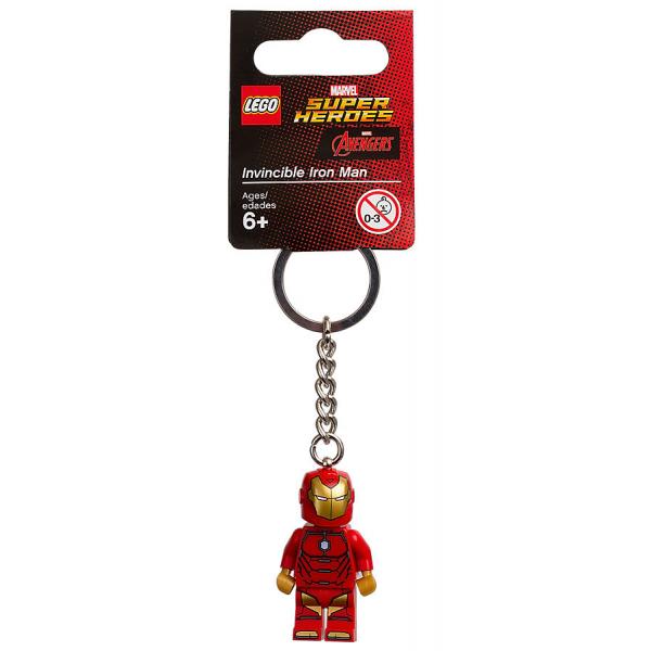 Lego Super Heroes брелок Железный человек 853706 Marvel Keylight iron man