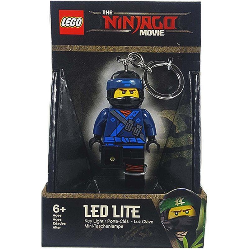 Lego Ninjago Брелок-фонарик Джей светодиодный LGL-KE108J Movie Ninja jay Key Chain
