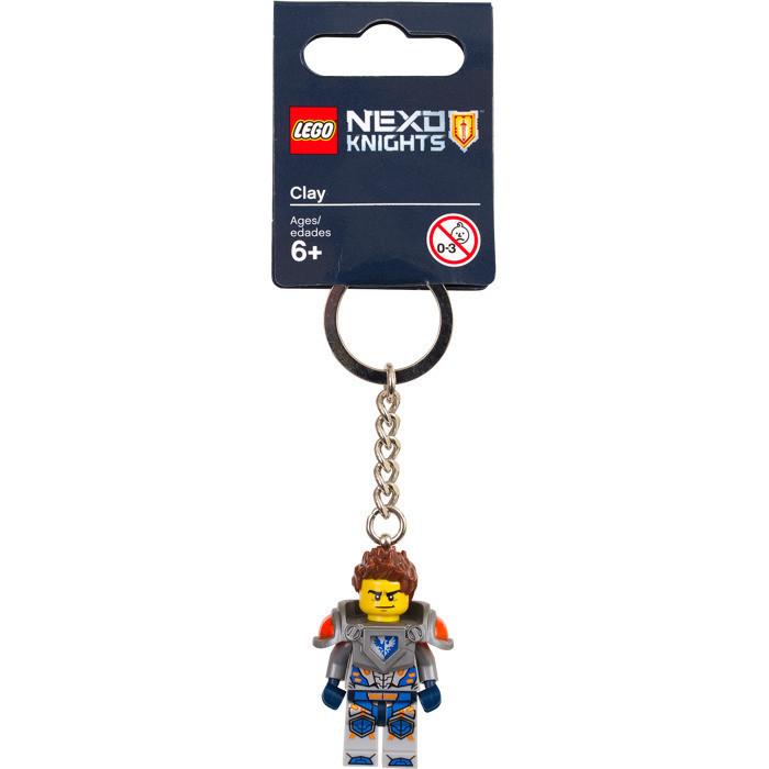 Lego Nexo Knights Брелок Клэй 853521 Clay Keyring