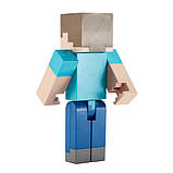 Minecraft Майнкрафт фигурка Стив FLC71 Large Scale Steve Action Figure, фото 4