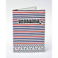 Обкладинка для паспорта в морському стилі, Обкладинки на Укр/закордонний Паспорт/ магазин Gipo, фото 1