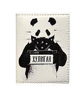 Обложка на ID паспорт Панда, Обложки на ID-карты и пластиковые права/ магазин Gipo, фото 1