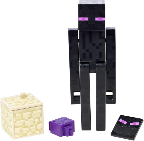 Minecraft Майнкрафт фигурка Эндермен 2 лица GCC23 Comic Maker Enderman Action Figure with 2 Faces