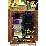 Minecraft Майнкрафт фигурка Эндермен 2 лица GCC23 Comic Maker Enderman Action Figure with 2 Faces, фото 5