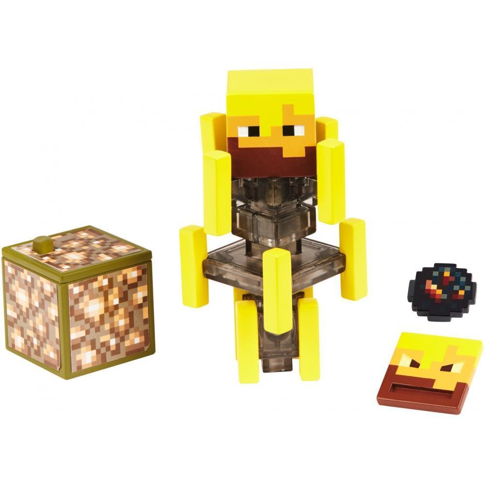 Minecraft Майнкрафт фигурка ифрит Блейз 2 лица Comic Maker Blaze Action Figure with 2 Faces