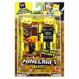 Minecraft Майнкрафт фигурка ифрит Блейз 2 лица Comic Maker Blaze Action Figure with 2 Faces, фото 2
