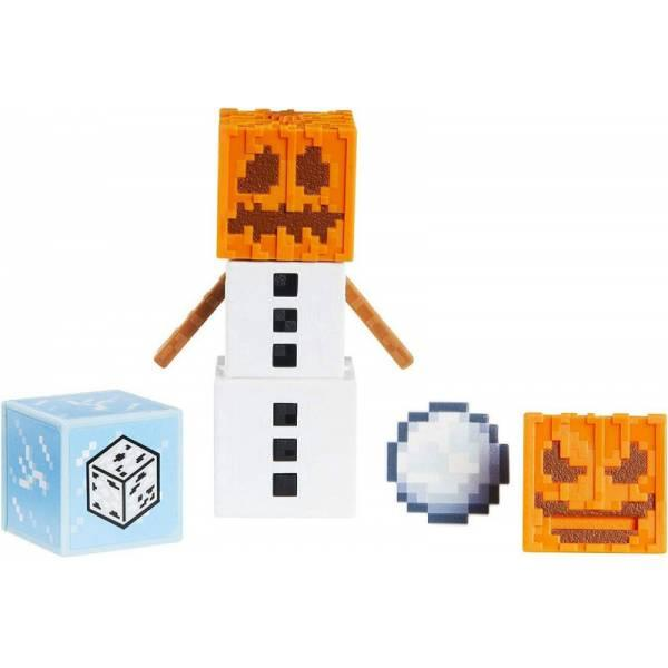Minecraft Майнкрафт фигурка снежный голем 2 лица Comic Maker Snow Golem Figure with 2 Faces