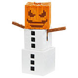 Minecraft Майнкрафт фигурка снежный голем 2 лица Comic Maker Snow Golem Figure with 2 Faces, фото 3