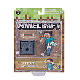 Minecraft S4 Майнкрафт фигурка Стив со стрелами 19971 Steve with Arrows Figure Pack, фото 2