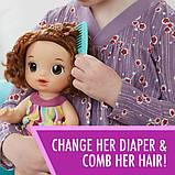 Baby Alive Интерактивная кукла пупс Рисование Finger Paint Baby Brown Hair, фото 2