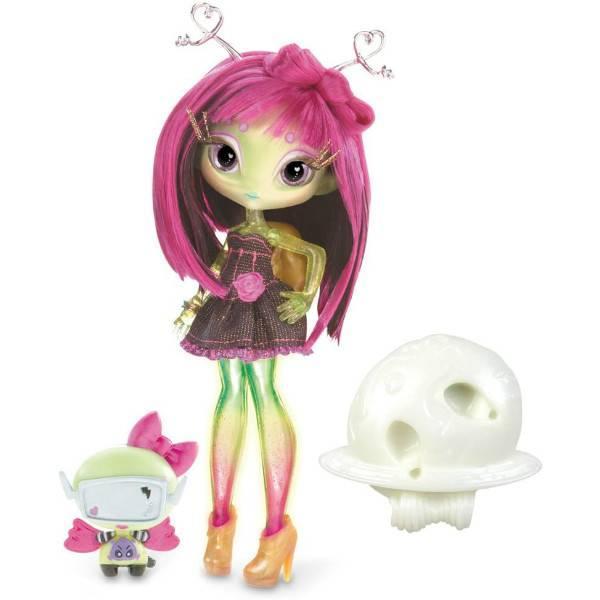 Novi Stars Кукла инопланетянка Али Лектрик светится 516927 Alie Lectric Doll