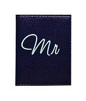 Обложка на ID паспорт для него Mr&Mrs, Обложки на ID-карты и пластиковые права